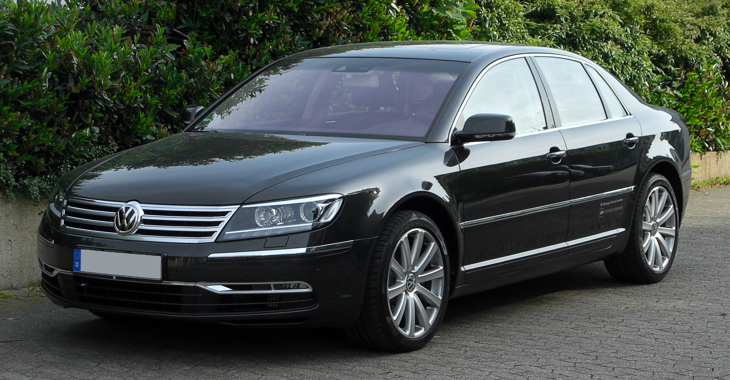 Volkswagen Phaeton W12 A Luxury Car For The Lucky Emotoauto Com