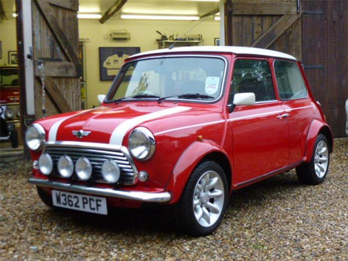 The British car icon mini