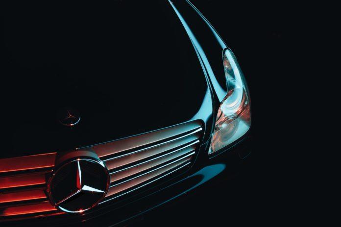 Mercedes Rental Car