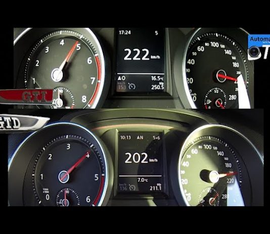 Acceleration Comparison Golf 7 Gti Vs Gtd Video Car